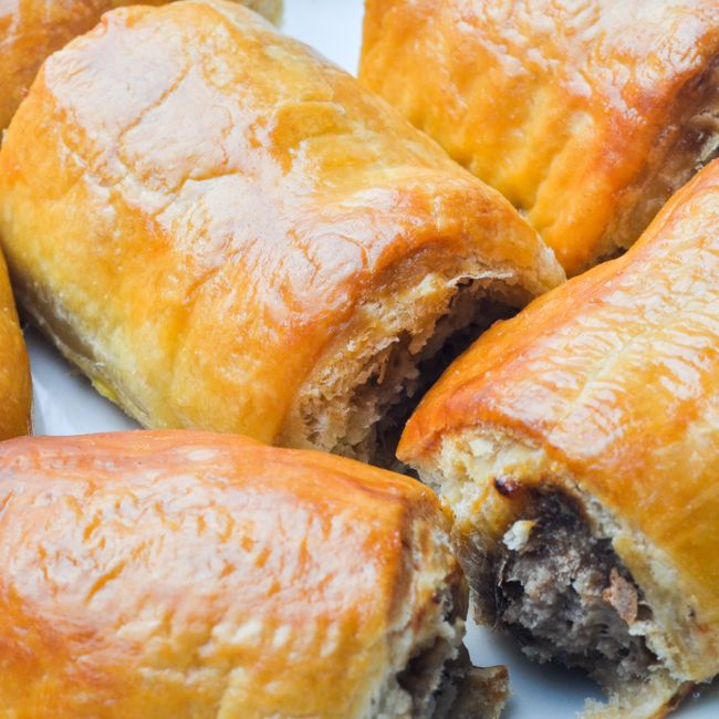 Sausage Rolls (Cocktail)