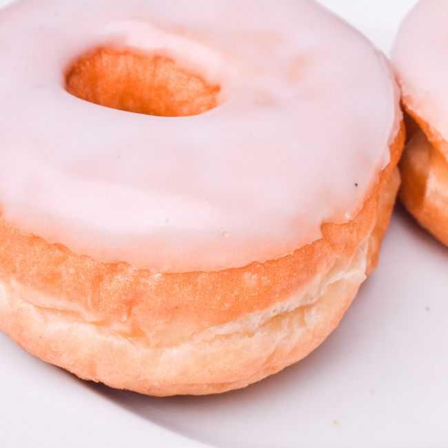 Doughnut Ring White-icing