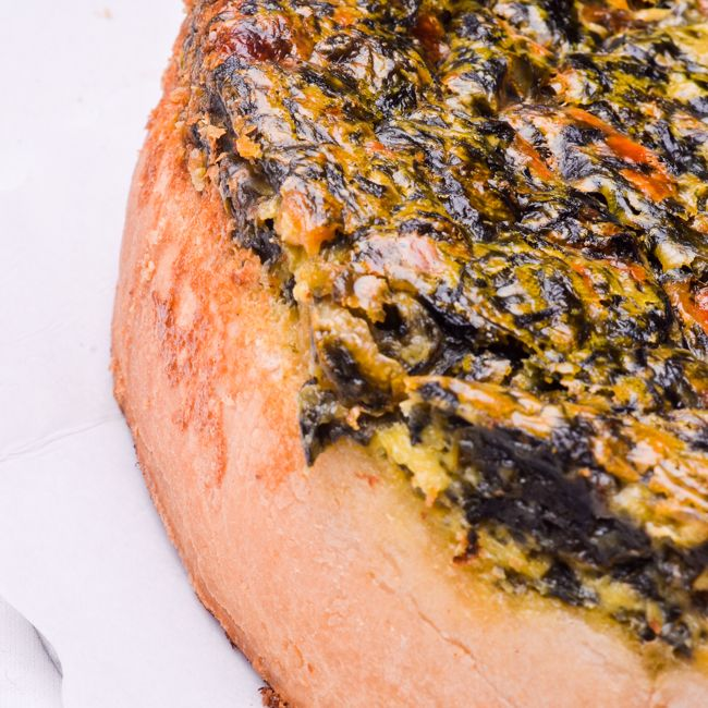 Quiche (Spinach & Feta) (Available from 9h00)