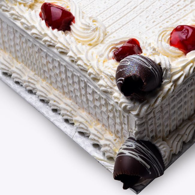 Vanilla Cake (Fresh cream) (30 pax) (Require 3 days Lead time)