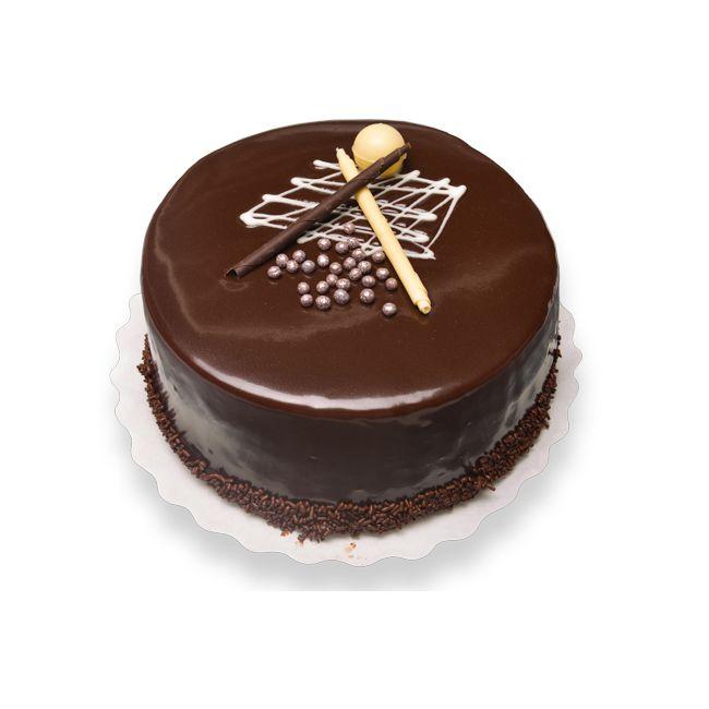 Sugar Free Gluten Chocolate Ganache Cake 8 Pax