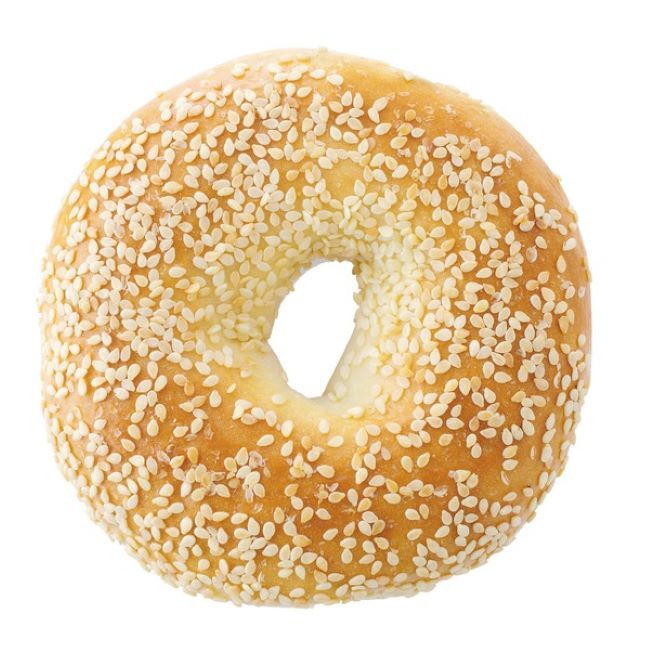 Bagel White  (Seeded)