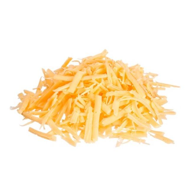 Grated cheddar cheese (250gr)