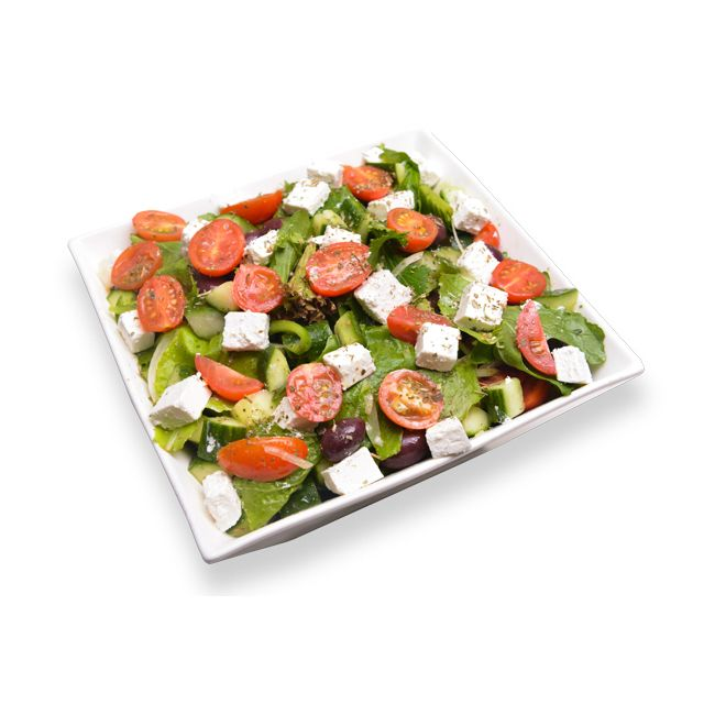 Greek Salad with Lettuce
