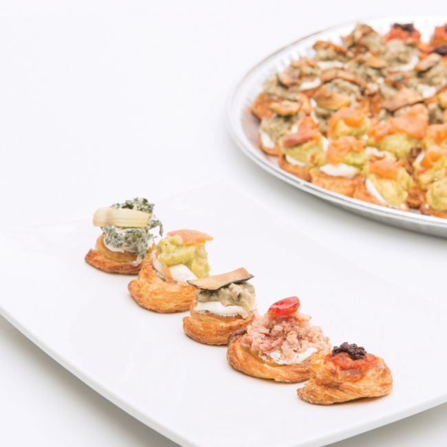 Fournos order platters for Canape menu prices