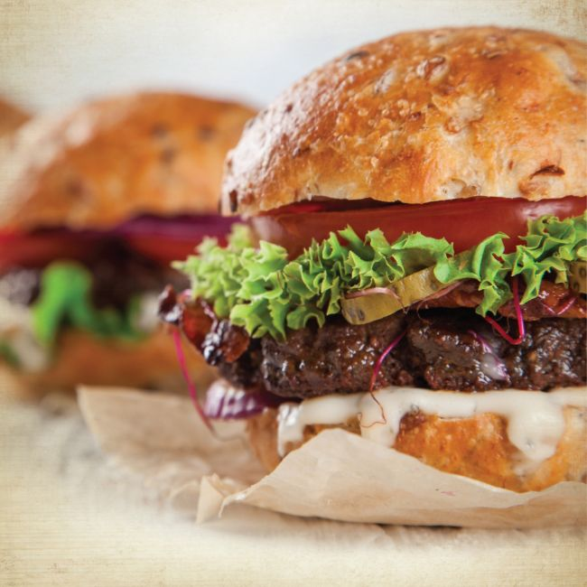 Cook & Eat Burgers (Vegetarian)